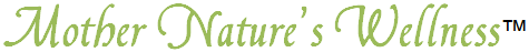 Mother Nature's Wellness powerpoint footer