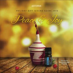 dōTERRA Holiday Gift Giving Guild 2016 Peace & Joy
